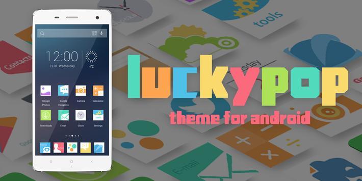 Luckypopo Theme poster