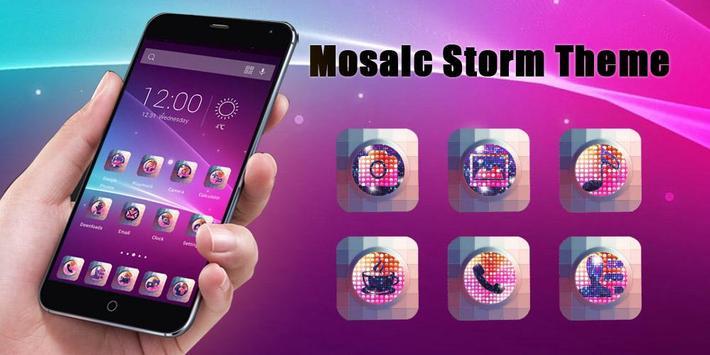 Mosaic Storm Theme poster