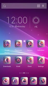 Mosaic Storm Theme apk screenshot