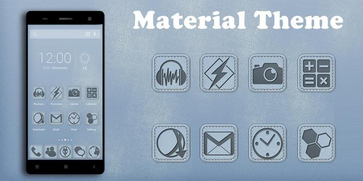 Material Solo Theme poster