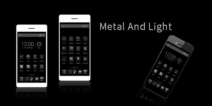 Metal And Light Theme poster