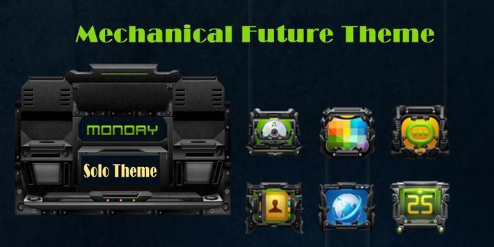 Mechanical Future Theme poster
