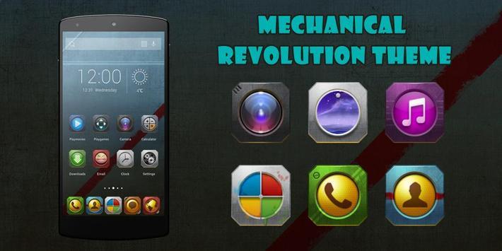 Mechanical Revolution Theme poster