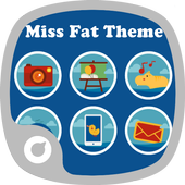 Miss Fat Theme icon