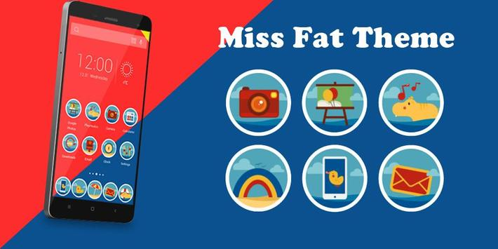 Miss Fat Theme poster