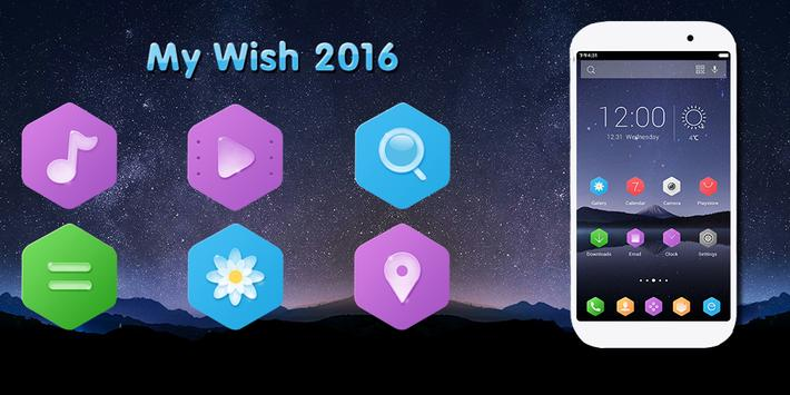 My Wish 2016 Theme poster