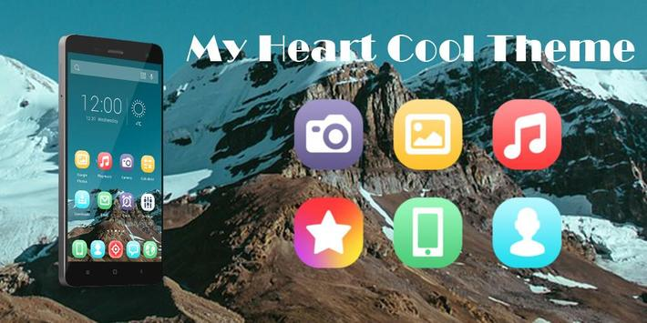 My Heart Cool Theme poster