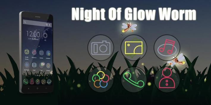 Night Of Glow Theme poster