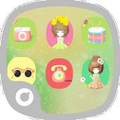 Smile Like Flower Theme icon