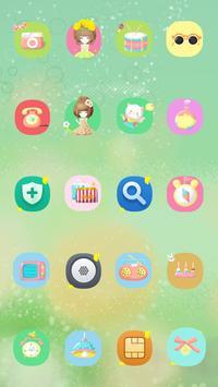Smile Like Flower Theme apk screenshot