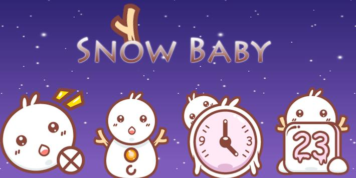 Snow Baby Theme poster