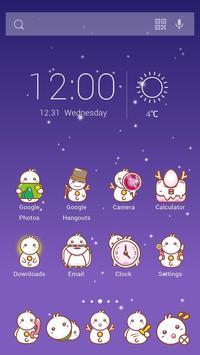 Snow Baby Theme apk screenshot