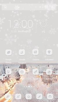 Snow Never Stop Theme apk screenshot