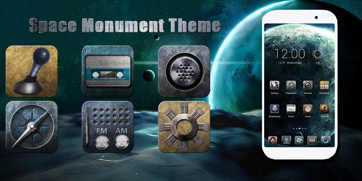 Space Monument Theme poster