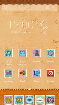 Stamp Solo Theme apk screenshot