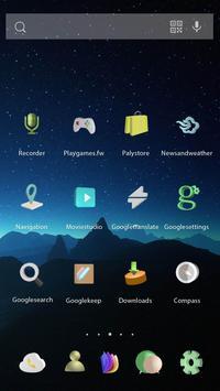 3D Starry Sky Theme apk screenshot