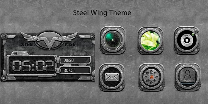 Steel Wing Theme poster