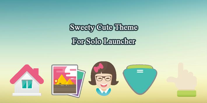 Sweety Cute Theme poster