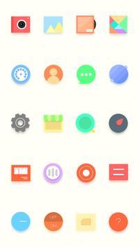Pastecolor Theme apk screenshot
