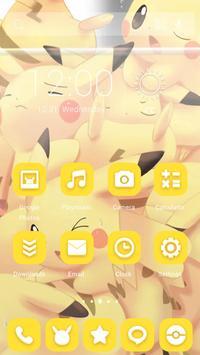 Yellow Picachlor Theme screenshot 1
