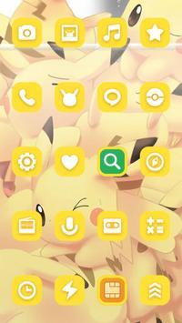 Yellow Picachlor Theme screenshot 2