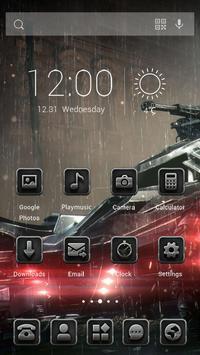 Rainy Night Racing Theme apk screenshot