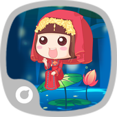 Red Dress Theme icon