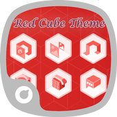 Red Cube Theme icon