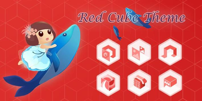 Red Cube Theme poster