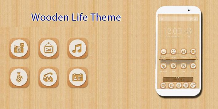 Wooden Life Theme poster