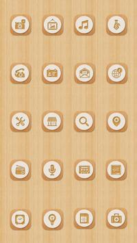 Wooden Life Theme apk screenshot