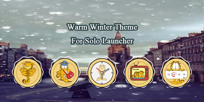 Warm Winter Theme poster
