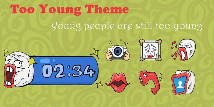 Too Young Theme poster