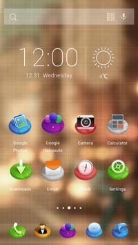 Three-dimensional style Theme apk screenshot