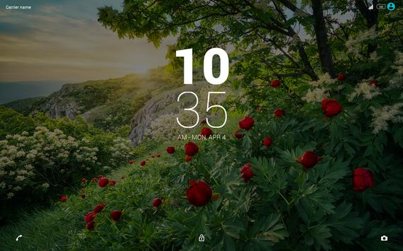 Morning  Symphony Xperia Theme apk screenshot