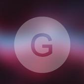 Galaxy Blur Xperia Theme icon