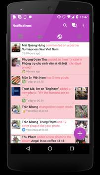 Themes For Facebook Mini Fb Apk Screenshot