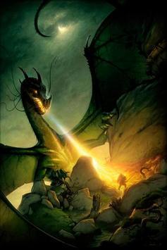 Dragon HD Wallpaper Background poster