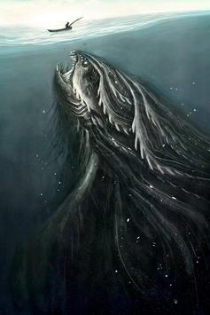 Sea Monster HD Wallpaper poster