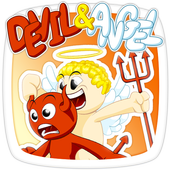 Devil and Angel Stickers icon