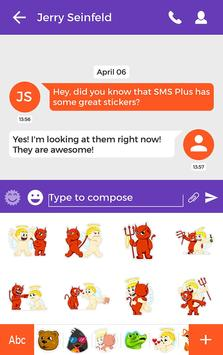 Devil and Angel Stickers apk screenshot