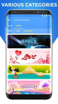 Launcher Themes and Wallpapers apk screenshot