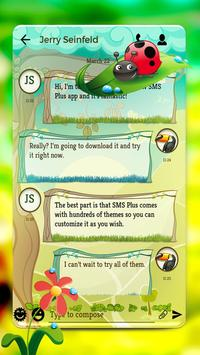 Nature SMS apk screenshot