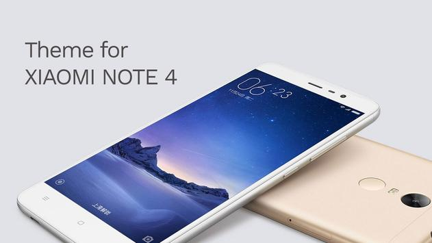 Theme For Xiaomi Redmi Note 4 For Android: Theme Xiaomi Redmi Note 4 2017 For Android