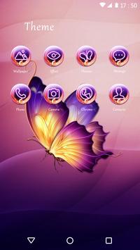 Butterfly Theme screenshot 2
