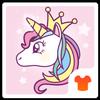 ikon Cartoon Theme - Cute Unicorn