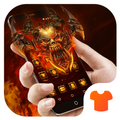 Fire Theme for Android FREE