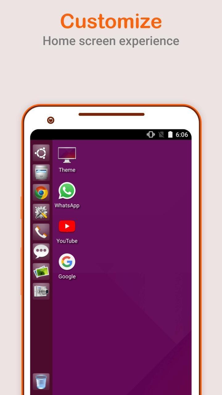 Ubuntu OS Theme Launcher Pro v1.0 Cracked APK [Latest] 3