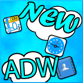 Beautiful Cloud Theme for ADW icon