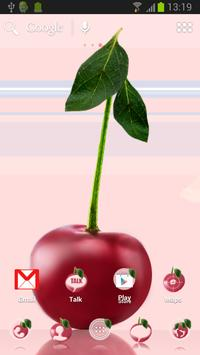 Cherries Theme for ADW poster